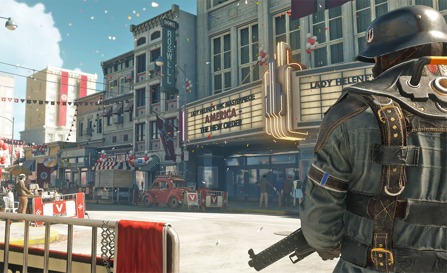 wolfenstein 2 and evil within 2 will support 4k on xbox one x