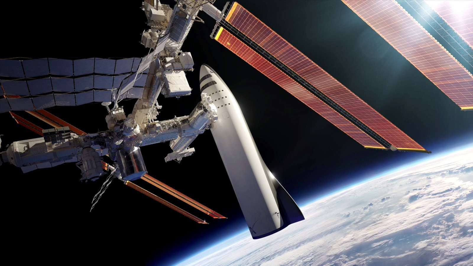 Image result for Elon Musk to ship internet satellites into area THIS WEEKEND