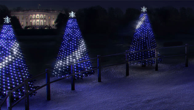 the national park services annual christmas tree lighting ceremony dates back to 1923 but this year its getting a software update