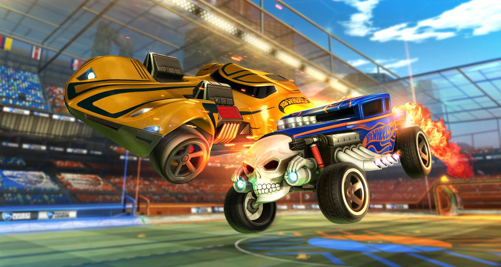 Classic Hot Wheels cars are coming to \'Rocket League\'