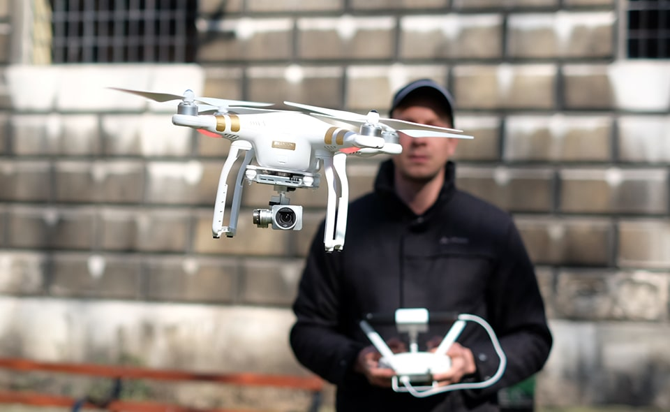 DJI's Phantom 3 brings 4K recording to its most popular drone