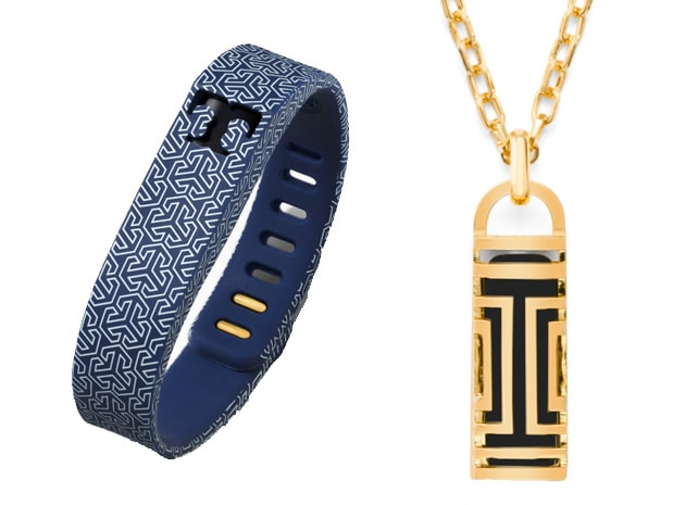 Fitbit 39 s tory burch jewelry makes your activity tracker for Tory burch jewelry amazon