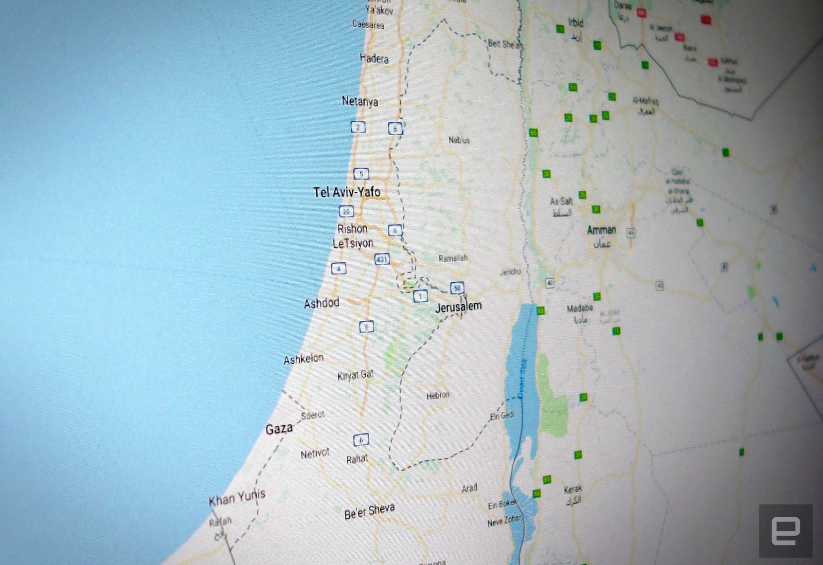 Google explains why Palestine isn\'t labeled in Maps