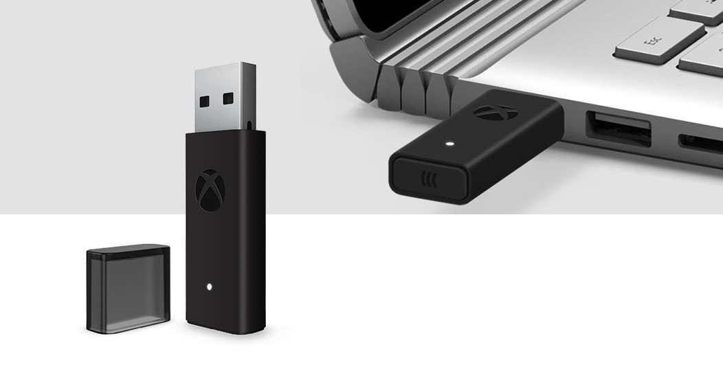 Microsoft shrunk the Xbox One wireless controller adapter for PCs