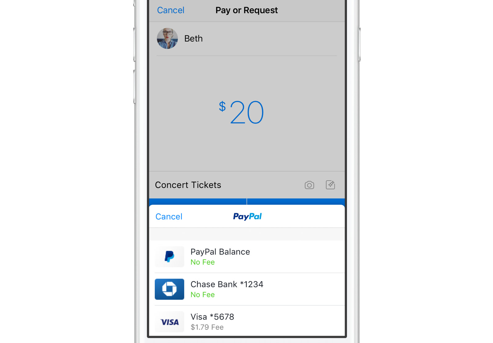 Facebook Messenger Lets You Send Cash To Friends With PayPal - How to create an invoice on paypal mobile online used book store