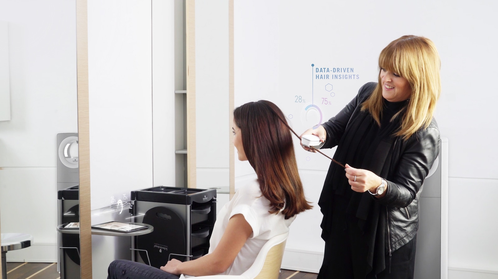This device will tell you just how bad your hair is for Salon schwarzkopf