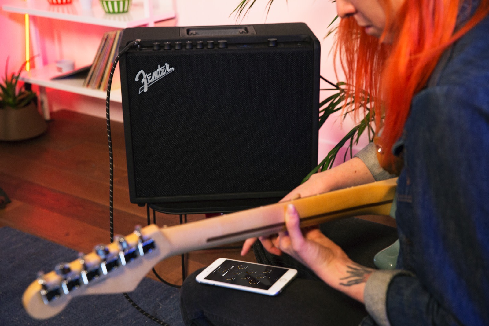 fender 39 s new guitar amps can be fine tuned from your phone. Black Bedroom Furniture Sets. Home Design Ideas