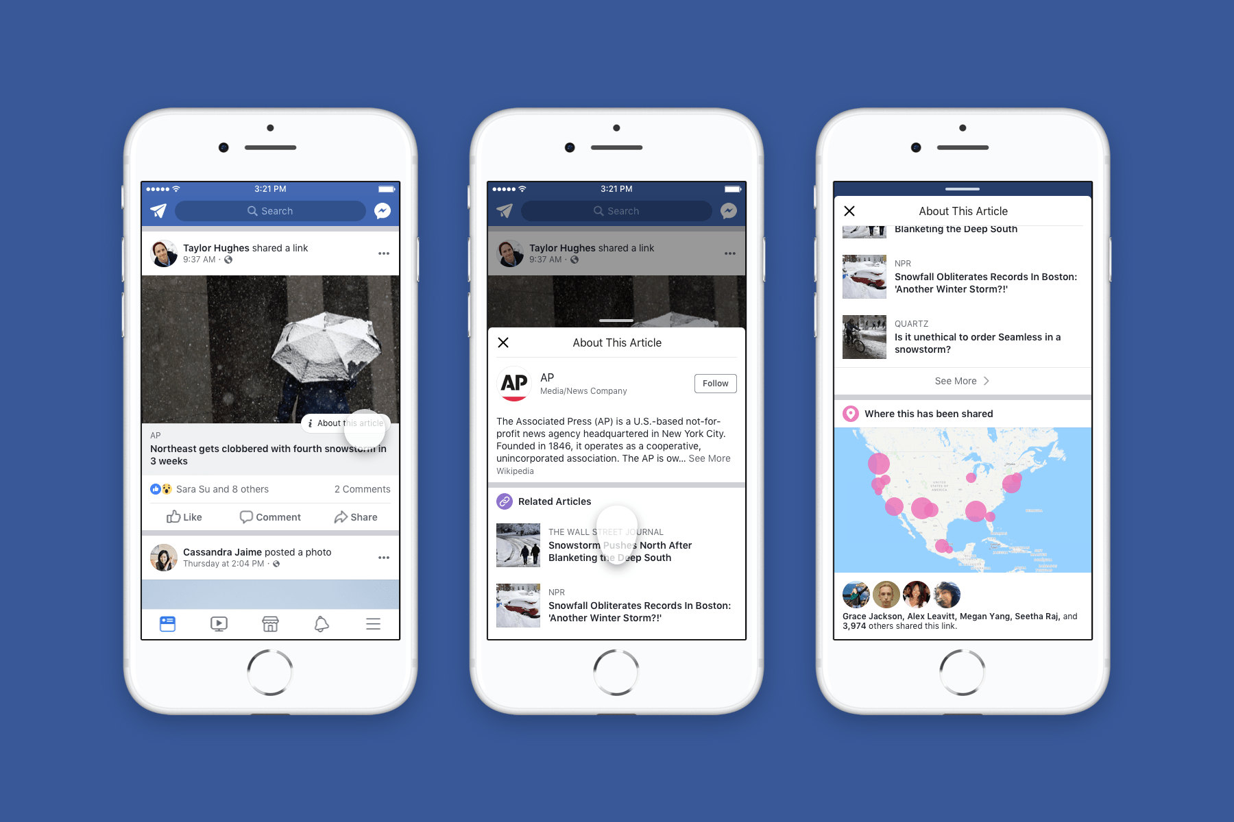 Facebook rolls out news verification tools to everyone in the US ...