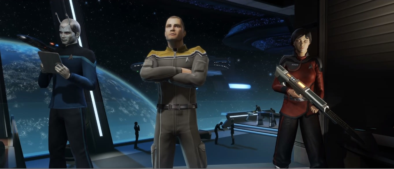 39 star trek online 39 launches for free on consoles - Star trek online console ...