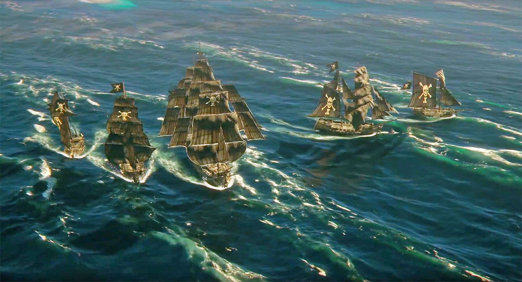 Skull Bones Takes Open World Online Gaming To The High Seas