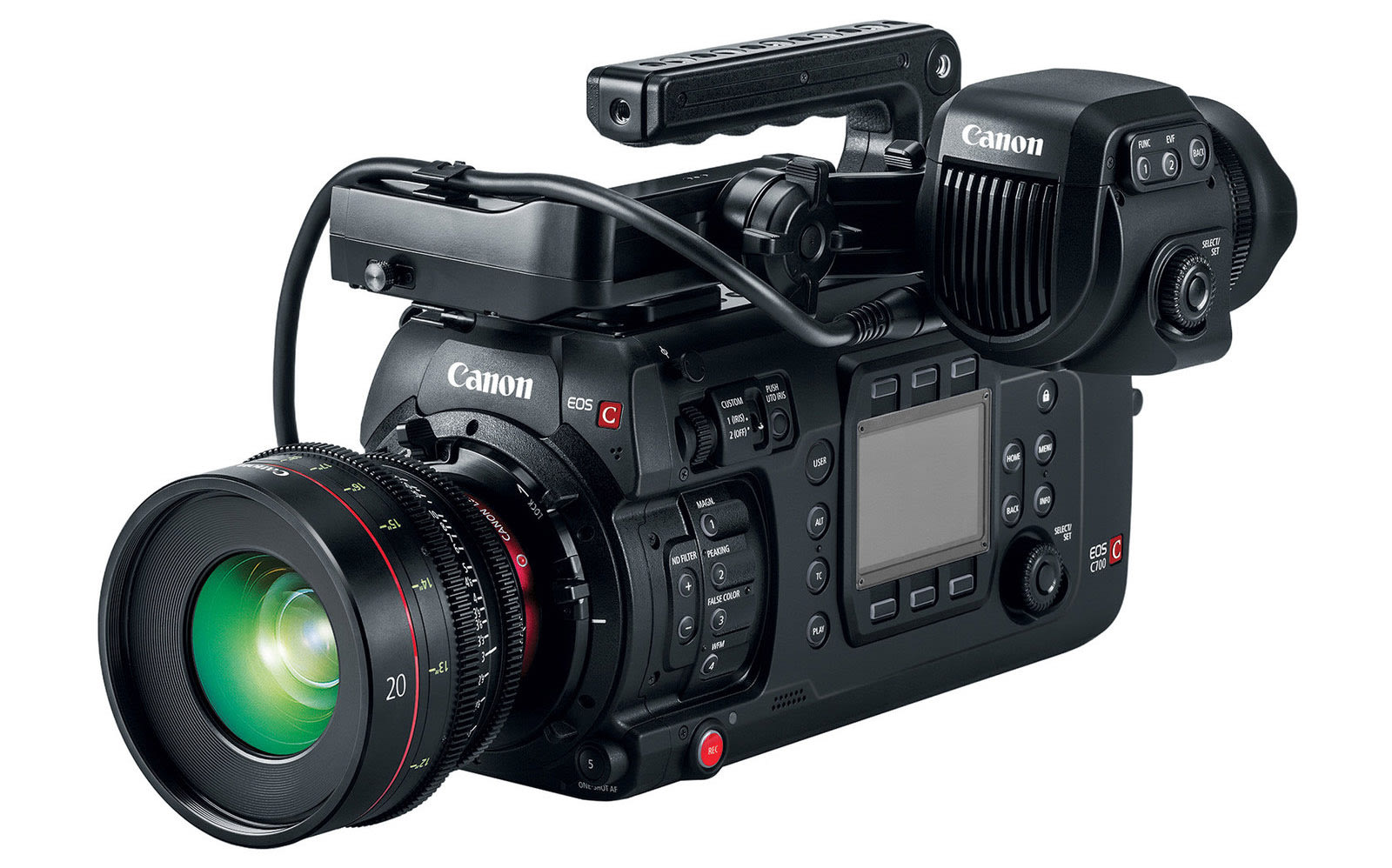 Canon takes on RED with its first full-frame cinema camera