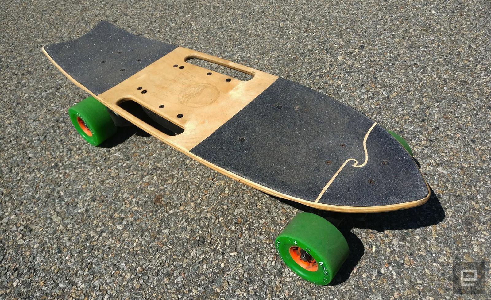 Riptide S Electric Skateboard Balances Power And Portability