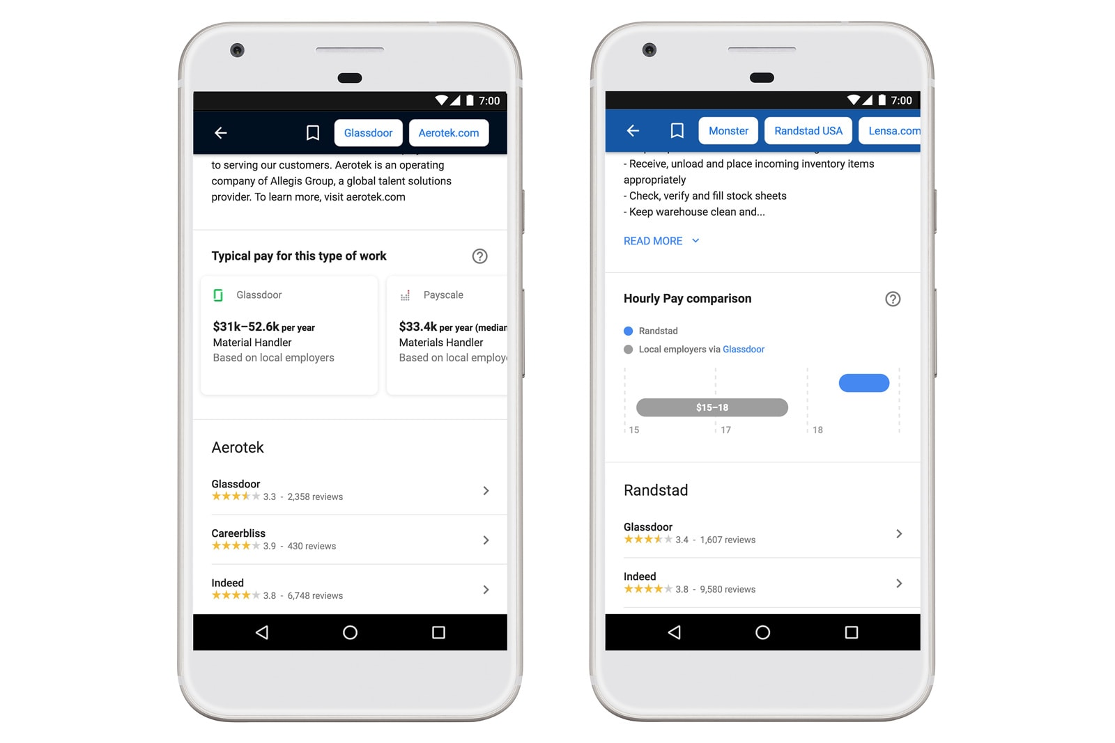 google adds salaries to its job search tool