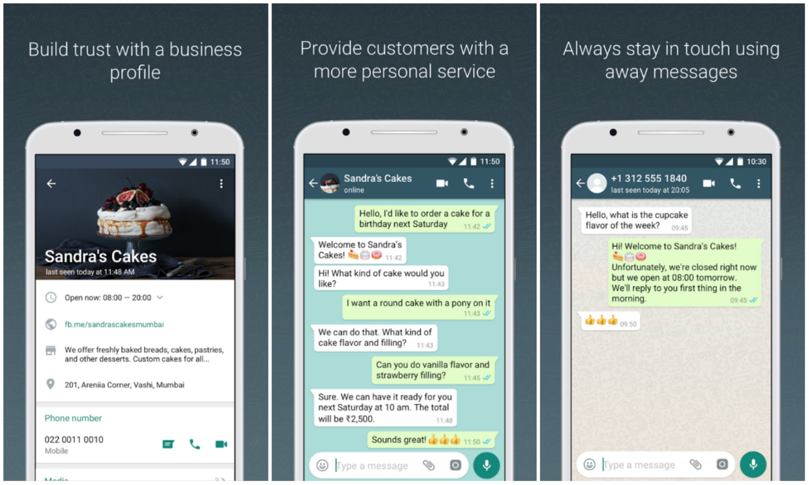 Whatsapp builds a customer service app for businesses whatsapp whatsapps push to get more businesses kristyandbryce Gallery