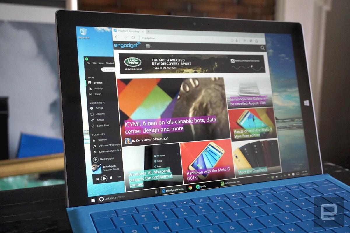 Windows 10, Anniversary Update, Edge, Extensions