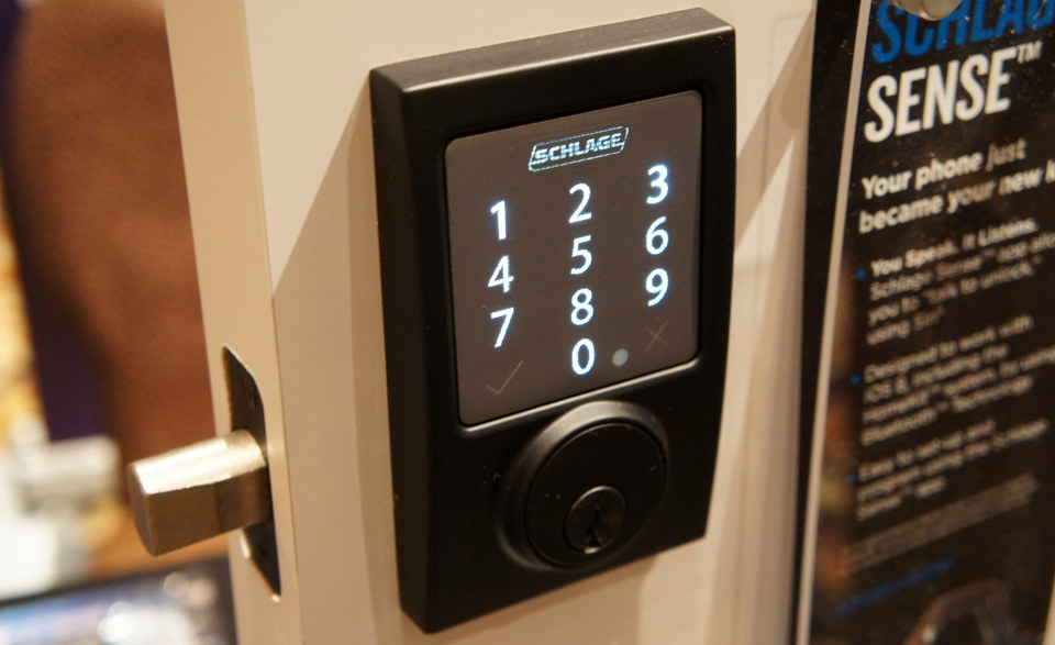 Schlage S New Smart Lock Lets You Open Your Door With Your