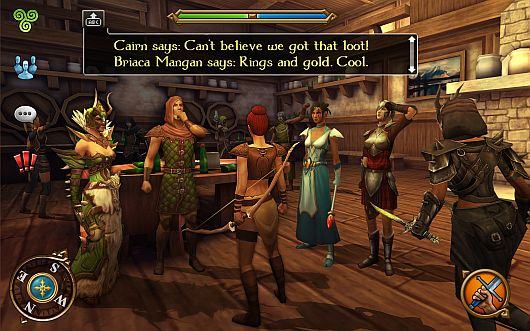 celtic heroes mobile mmo launches for android