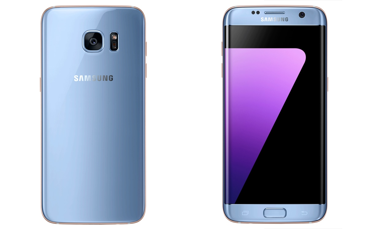 the galaxy s7 edge gets doomed note 7 39 s coral blue outfit. Black Bedroom Furniture Sets. Home Design Ideas