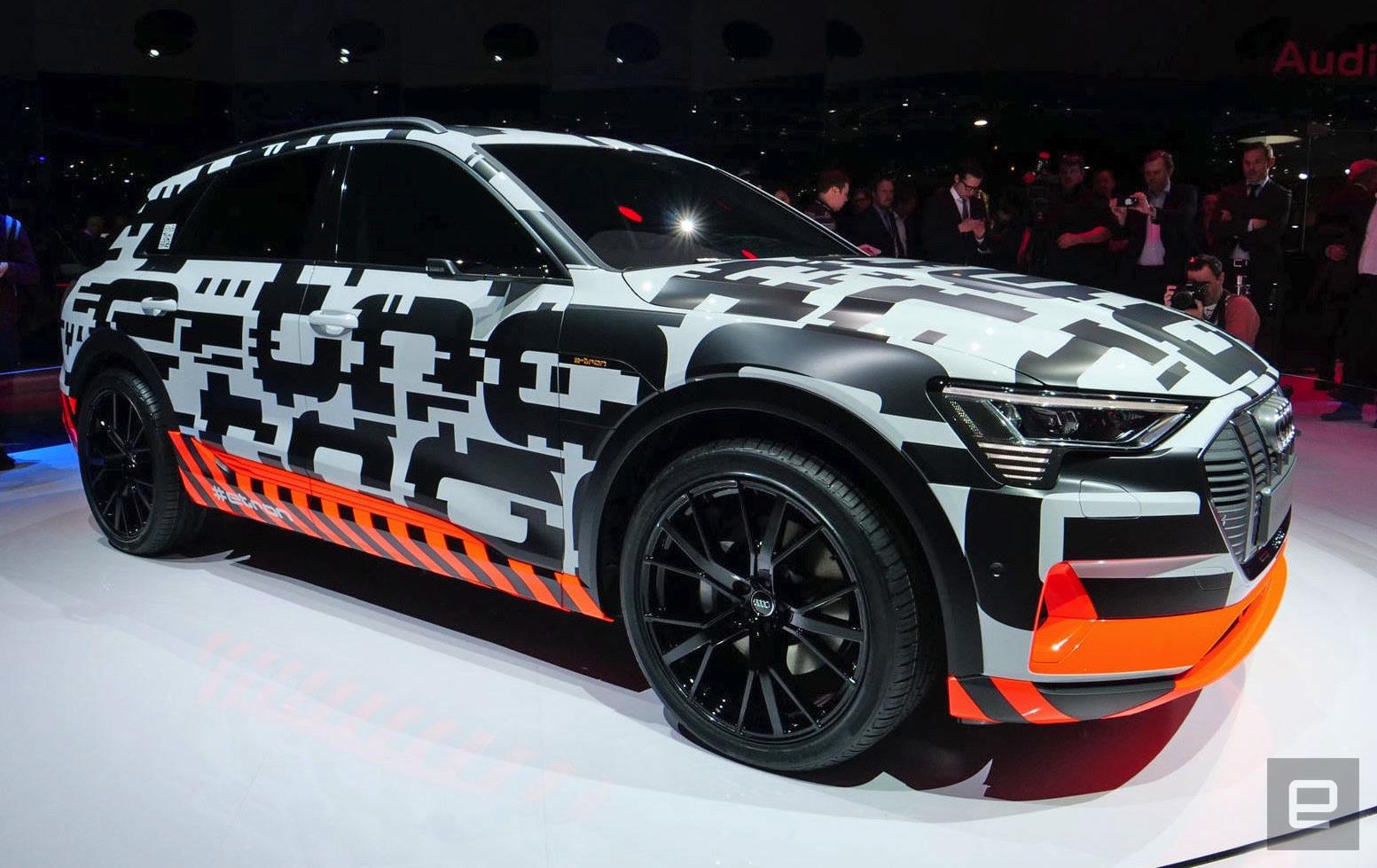 Audis Etron SUV Drives A Modest Miles Per Charge - Audi etron