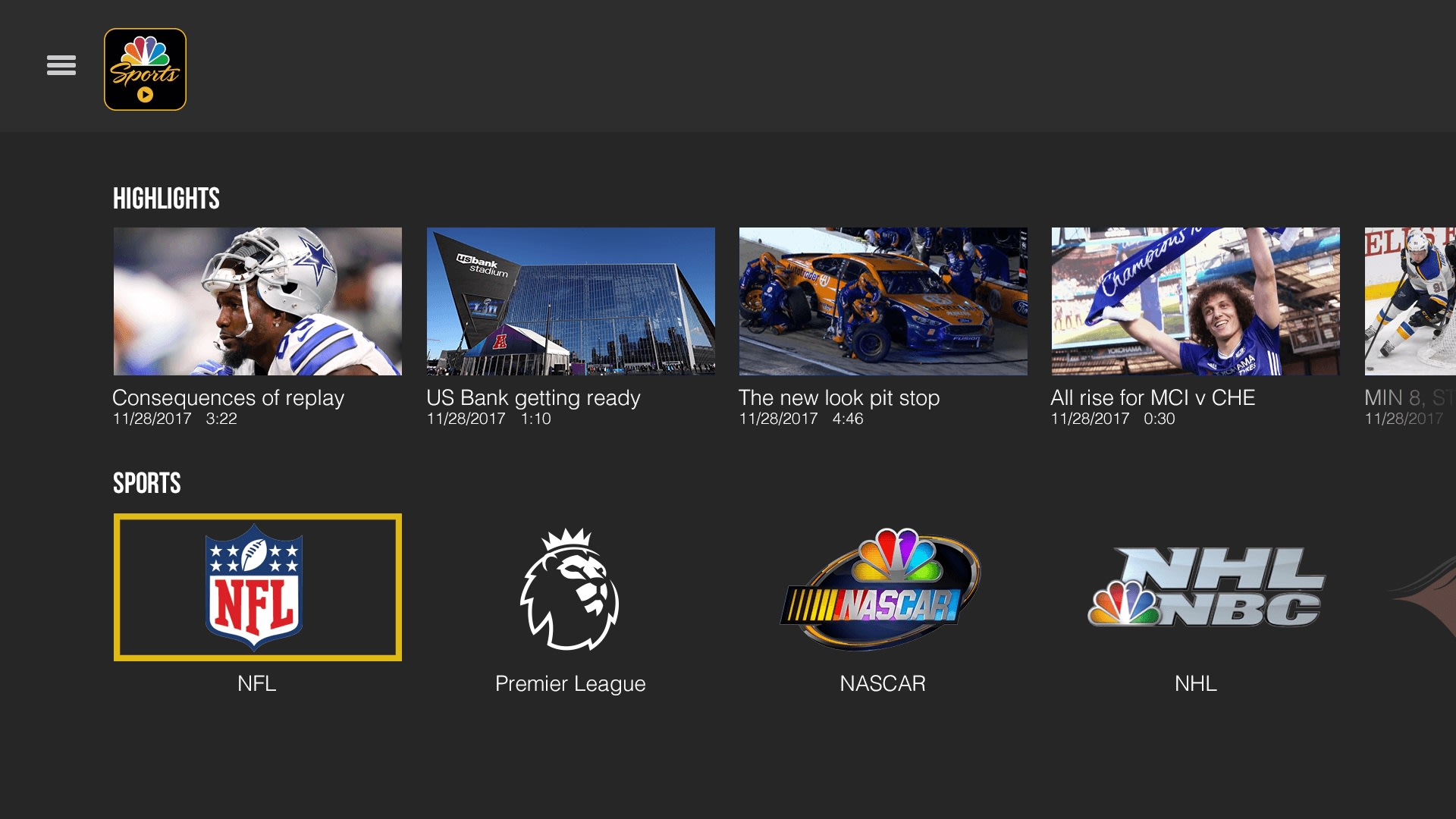 Image result for New NBC Sports App Offers Live Game Coverage On Mobile Devices