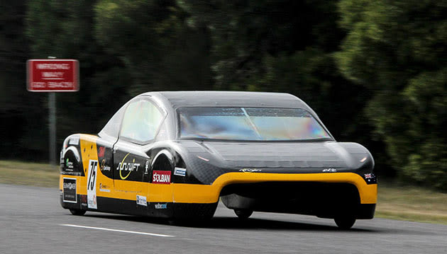 Aussie Electric Vehicle Breaks 20 Year Old World Speed Record