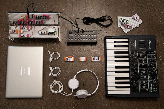 littlebits 39 synth kit plays nice with analog gear and audio software. Black Bedroom Furniture Sets. Home Design Ideas
