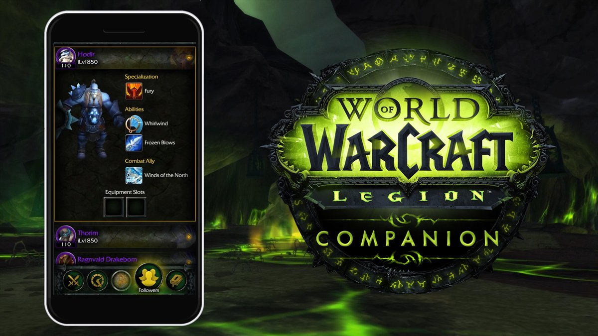 Blizzard launches new world of warcraft legion companion app the world of warcraft mobile armory app has been quietly keep track of all your characters stats and auctions for years now in fact it just got updated to gumiabroncs Images