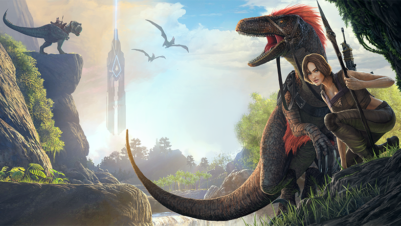 Ark survival evolved brings dinosaurs to your phone this spring war drum studios malvernweather Image collections
