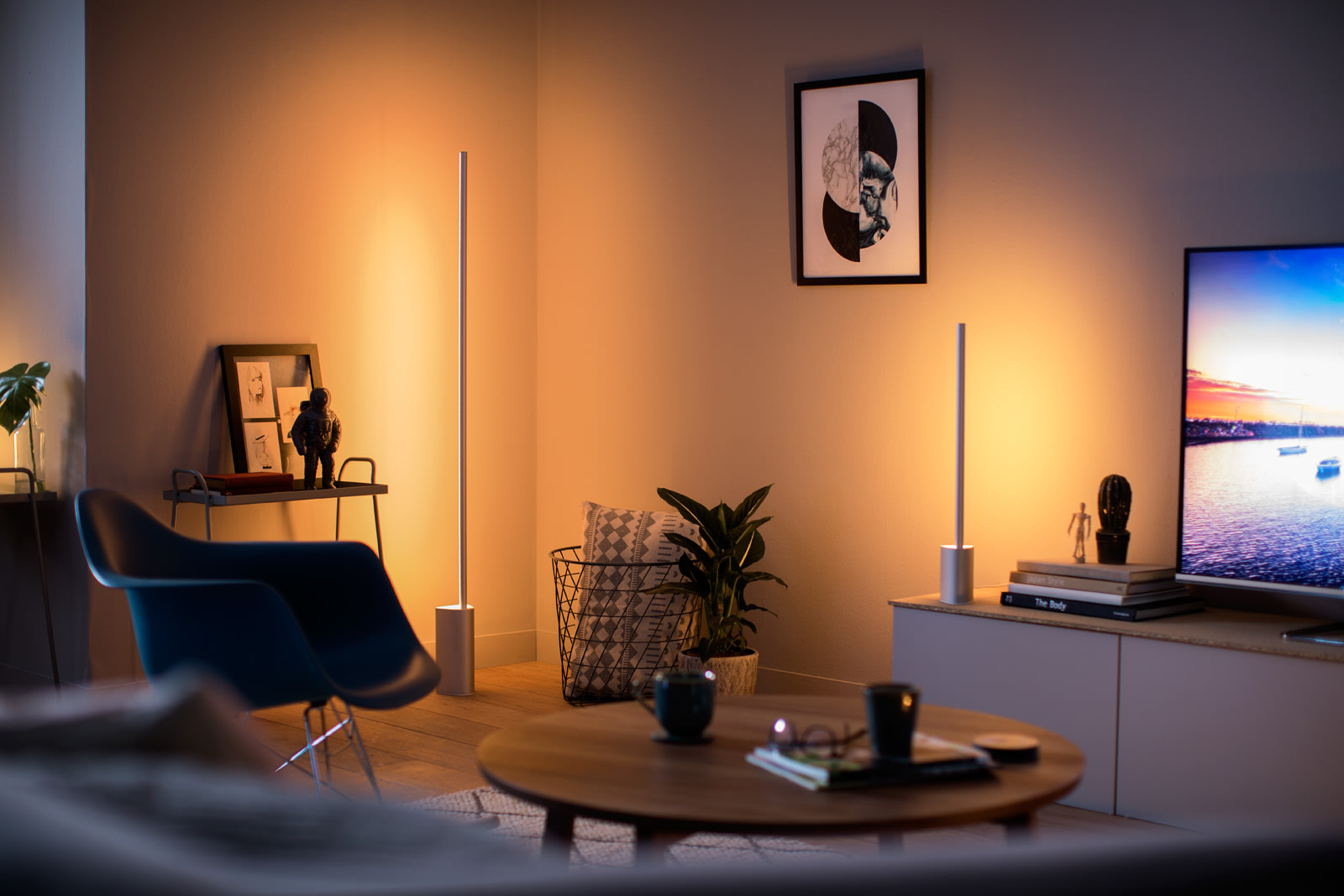 The Latest Philips Hue Lighting Kits Bring Color To Your Walls