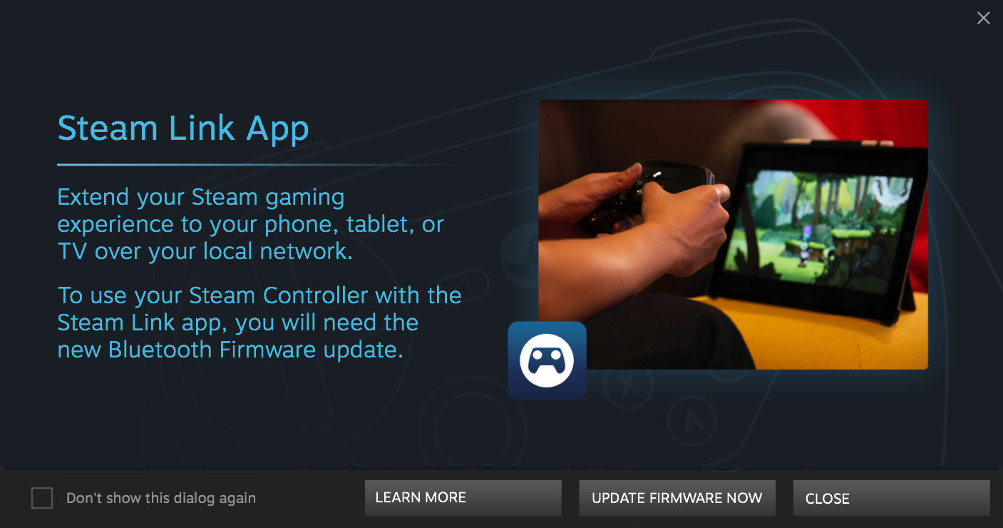 Valve switches on steam controllers mobile connection in beta valve fandeluxe Image collections