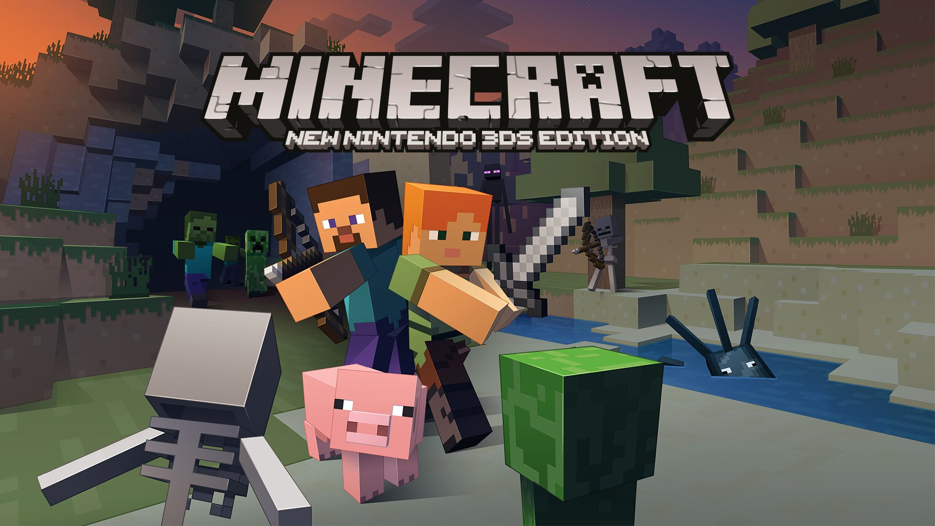 Minecraft Is Available On Nintendo Handhelds Right Now - Minecraft spiele fur nintendo
