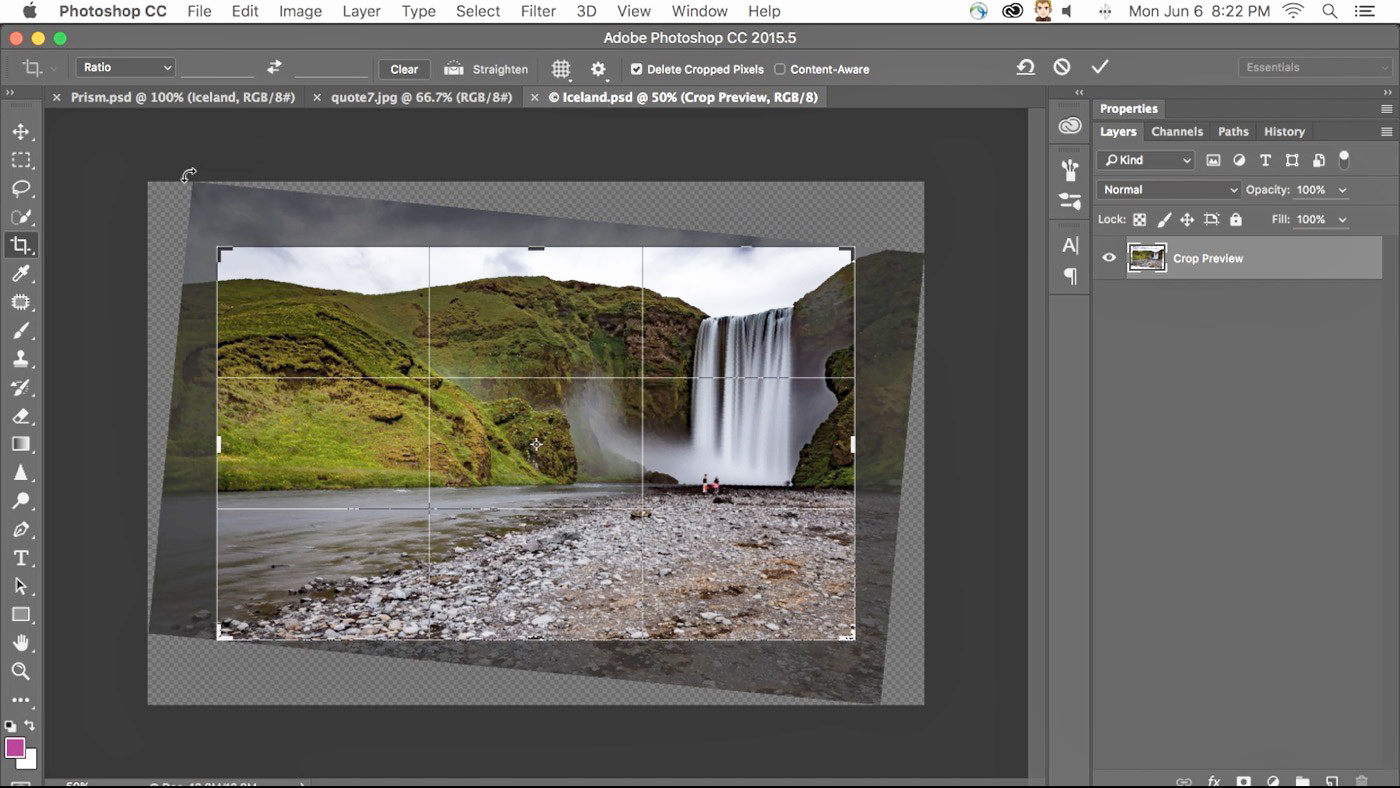 Adobe photoshop adds content aware crop and font suggestions adobe usually announces significant updates to creative cloud every six months and its delivering another right on schedule ccuart Gallery