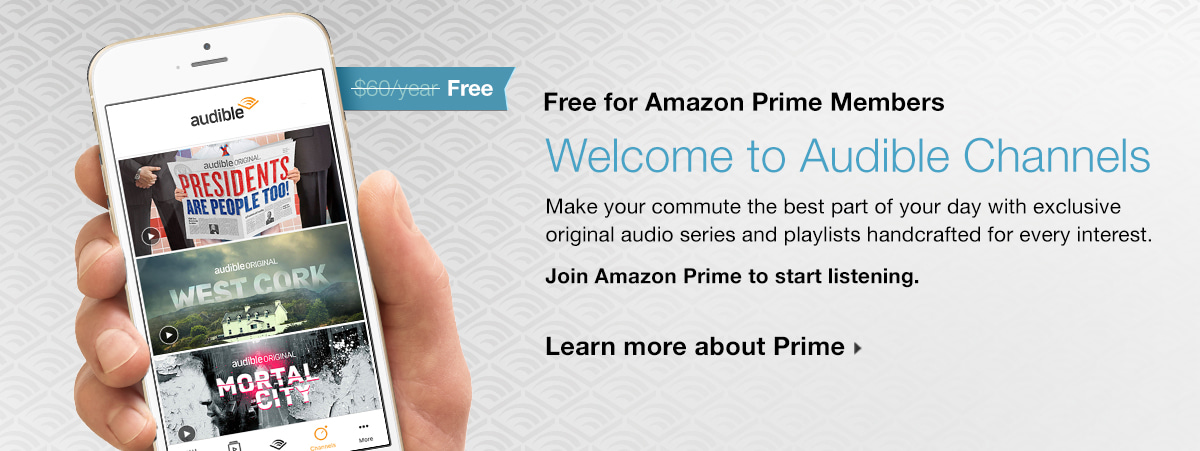 Amazon Prime Gives You Audible Streams For Free