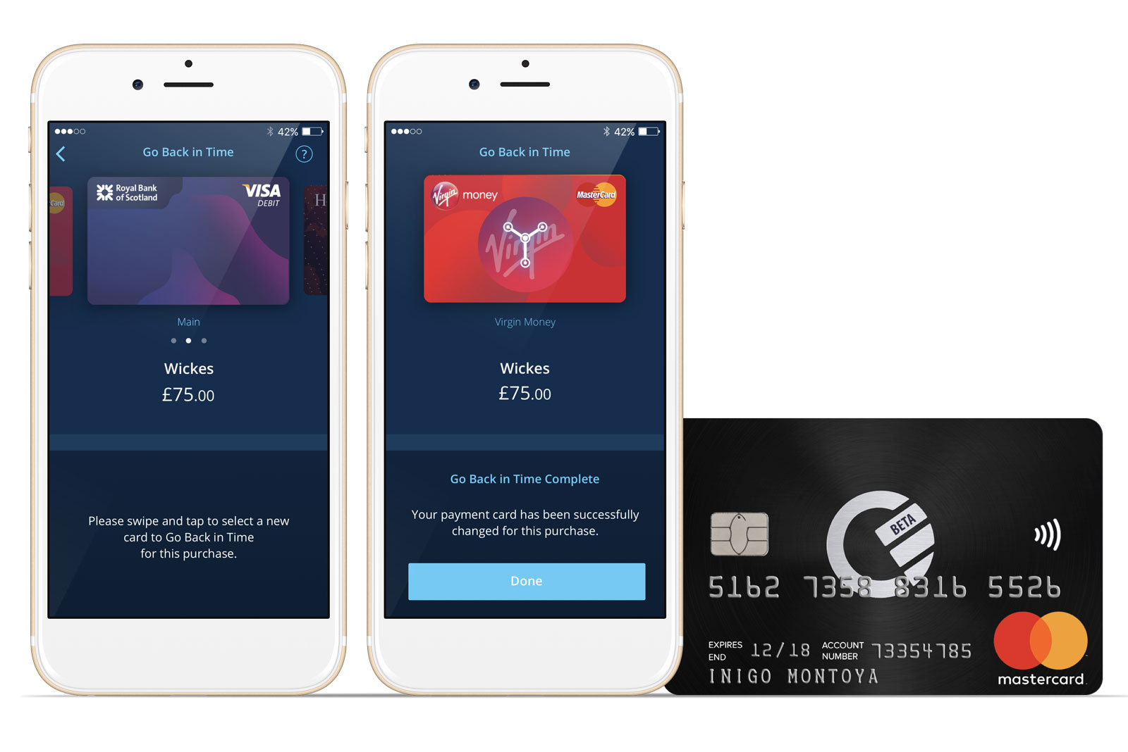 Curve\'s smart card switches between credit and debit after purchases