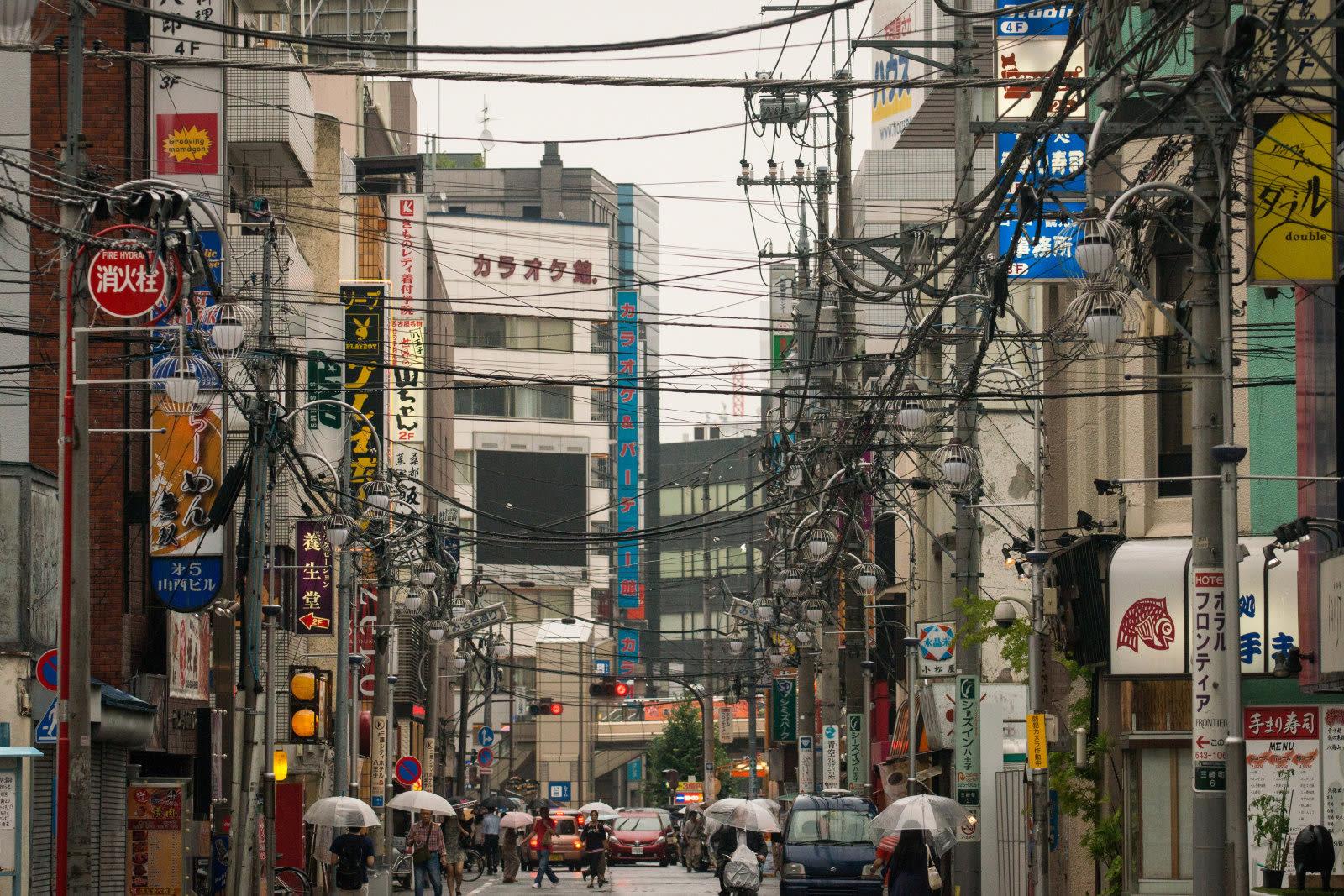 Japan: Eigener Strommast für bessere Musik