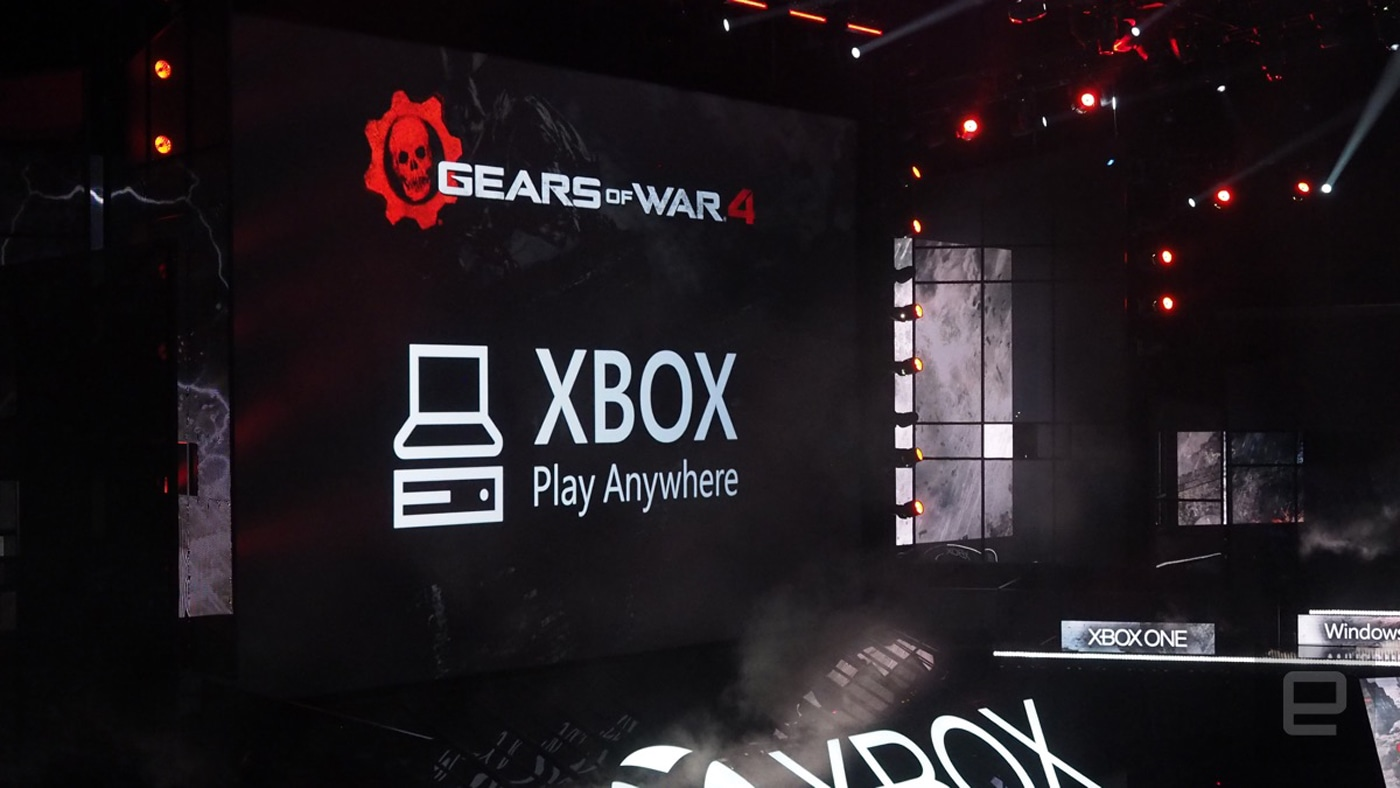 how to use a xbox play anywhere game