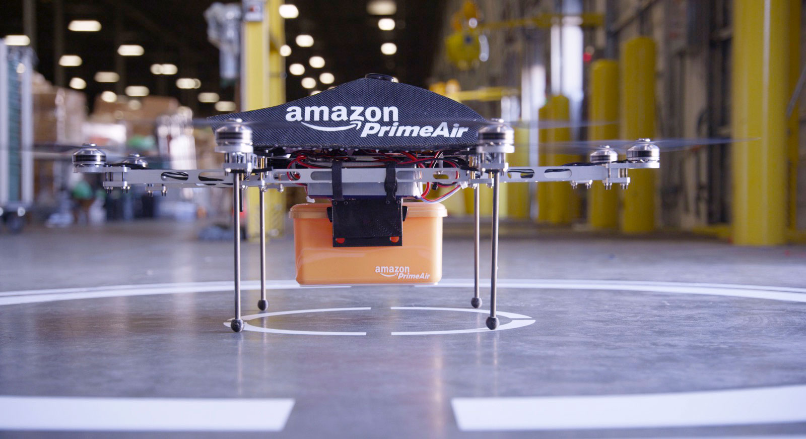 「delivered box amazon drone」の画像検索結果