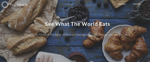 Turn instagram food posts into meals with recipe app handpick handpick a recipe app that helps users craft meals using ingredients they have on hand now scours the filtered seas of instagram for delicious looking forumfinder Gallery
