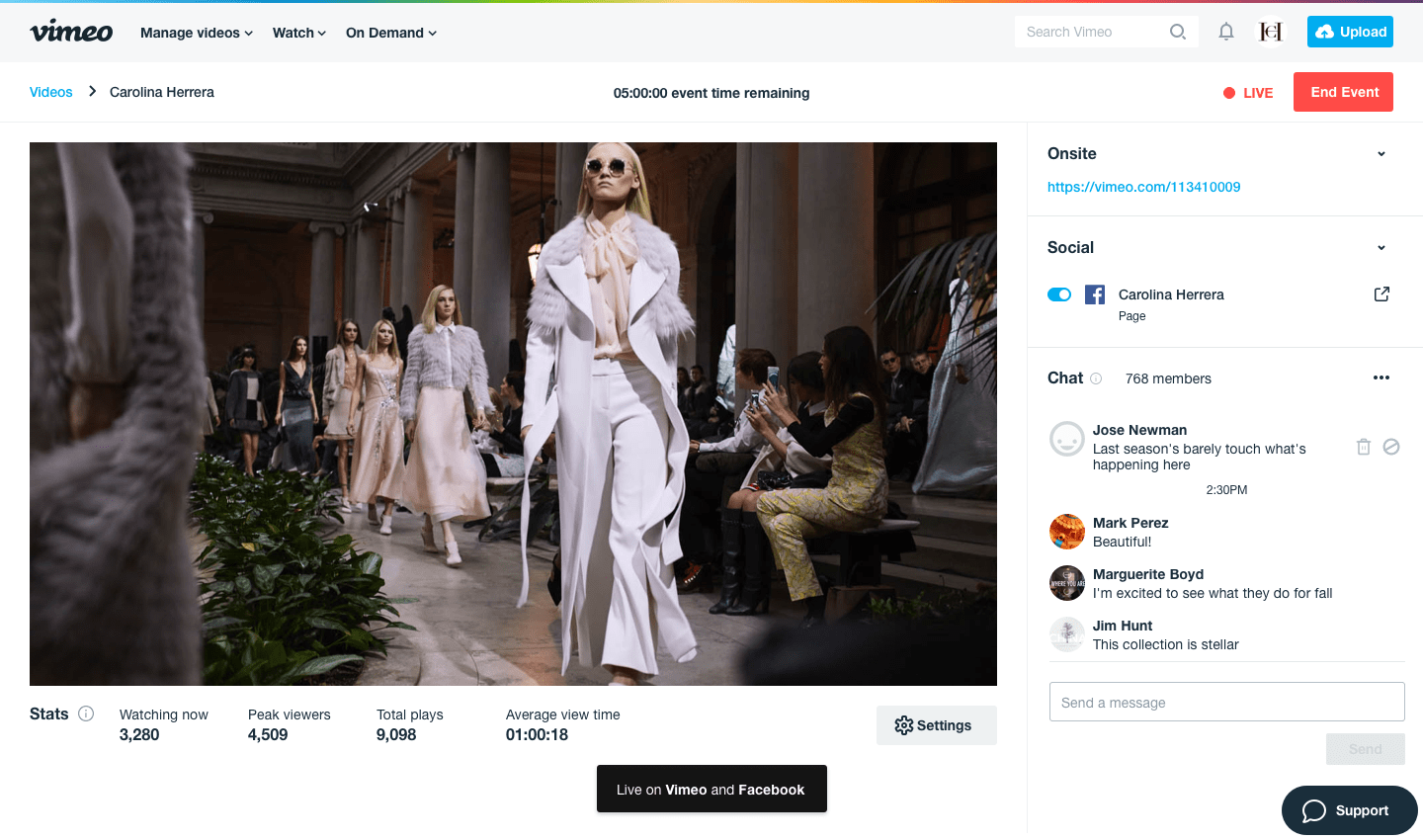 Vimeo wants to power facebook twitch and youtube livestreams vimeo stopboris Image collections
