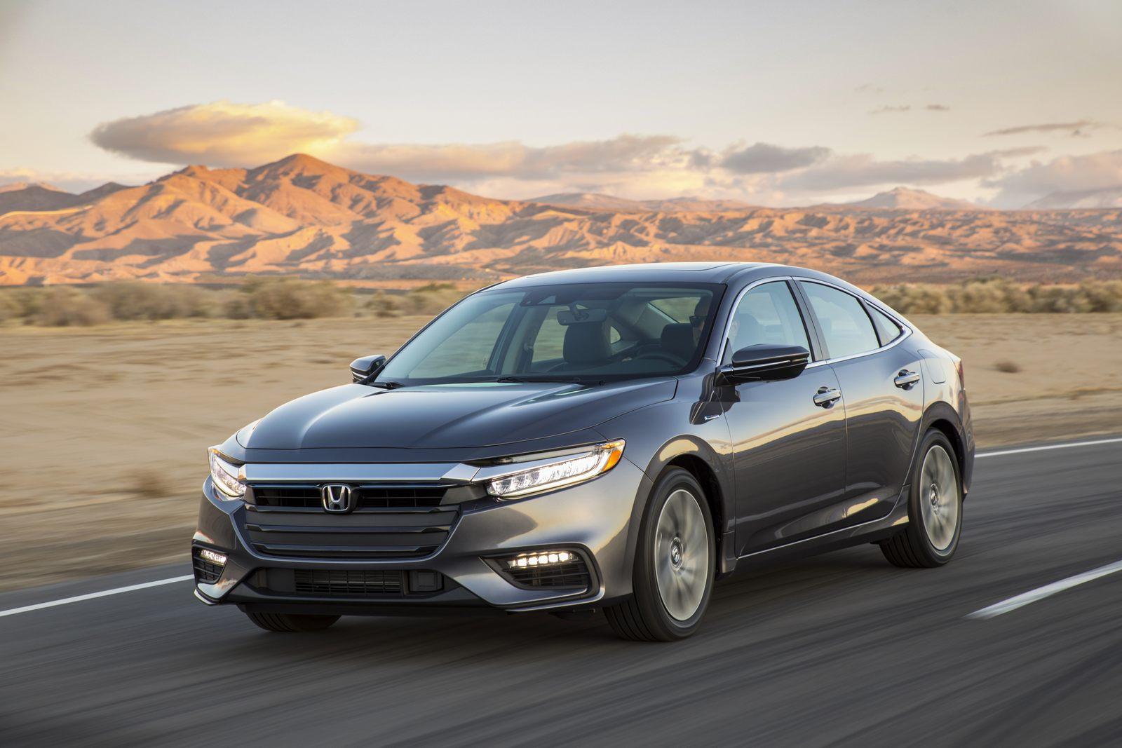 Honda Unveils The 2019 Insight Its New Upscale Hybrid Sedan