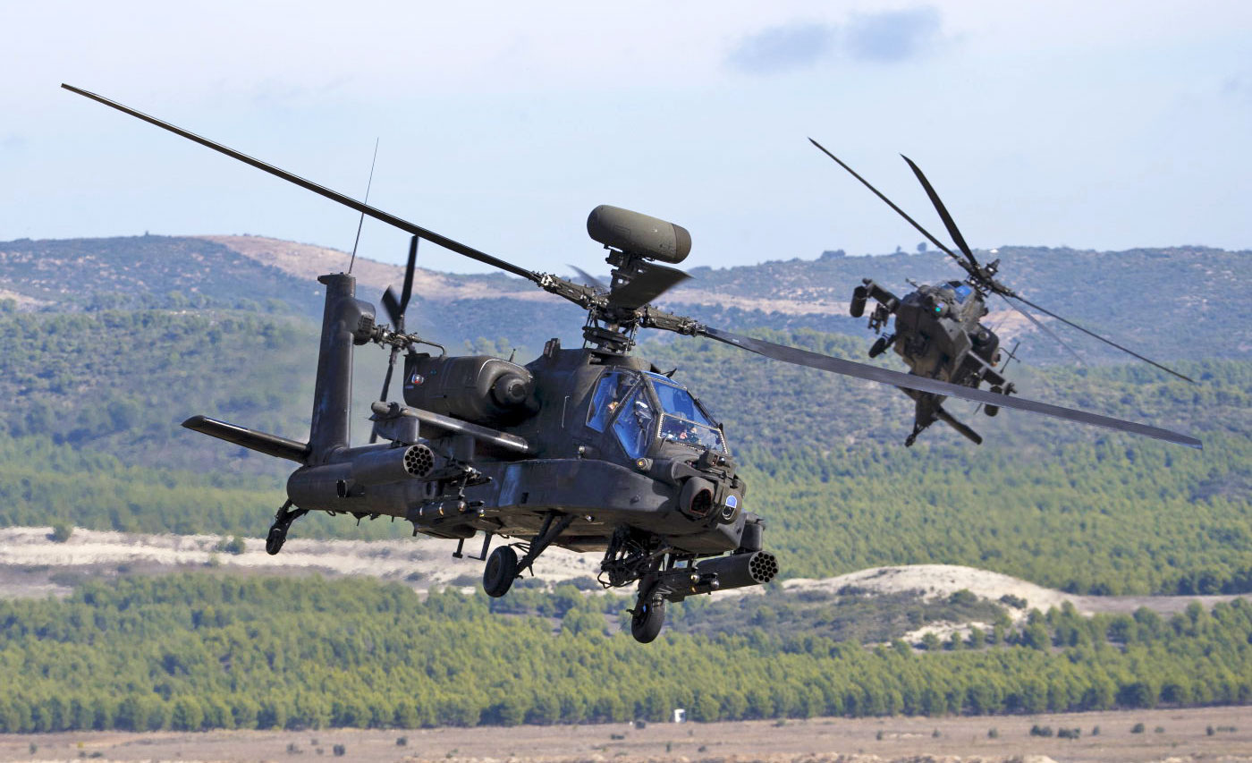 Apache Helicopters Now Have Real Time Drone Vision