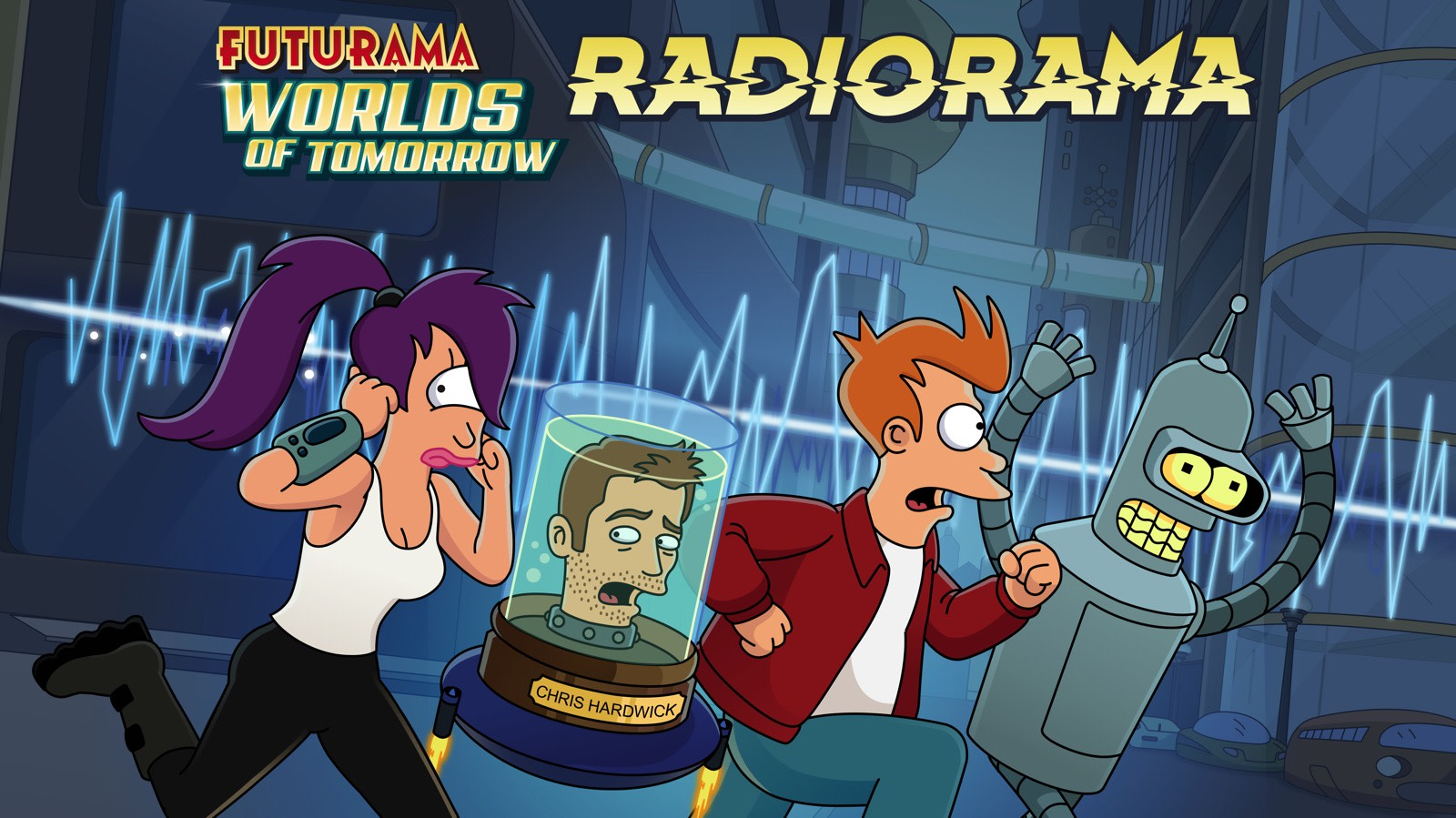 futurama returns for a one off 42 minute podcast episode