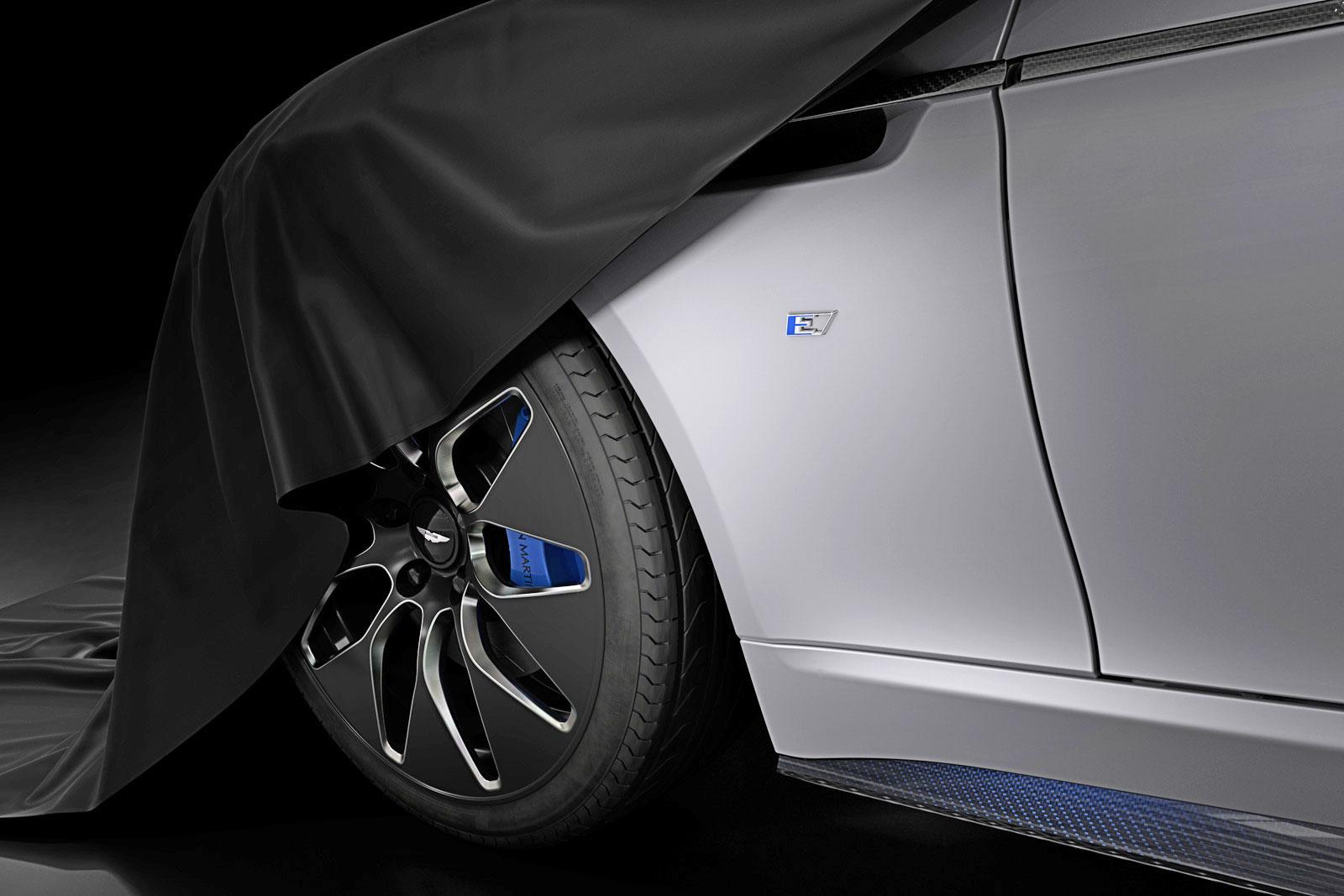 Aston Martin Offers Peek At Allelectric Rapide E Sedan - Rapide aston martin