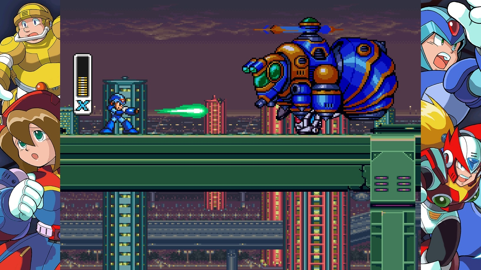 Image result for Mega Man X Legacy Collection 1 + 2 screenshot