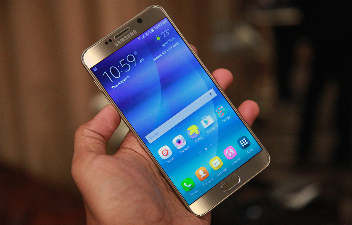 In Case The News Hasnt Already Been Spoiled For You Samsung Just Officially Revealed Two New Phablets And Updated Galaxy Note 5 Is Easily More