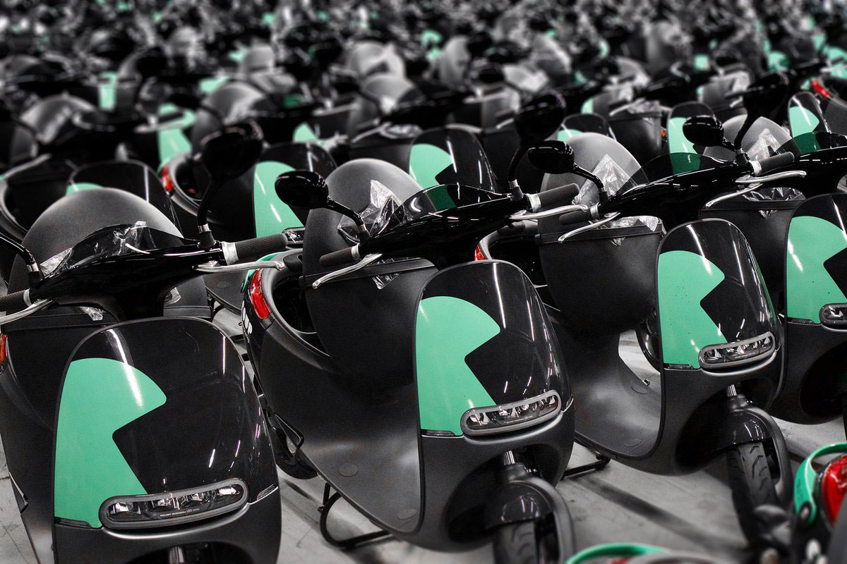Gogoro And Bosch Launch Electric Scooter Sharing Service