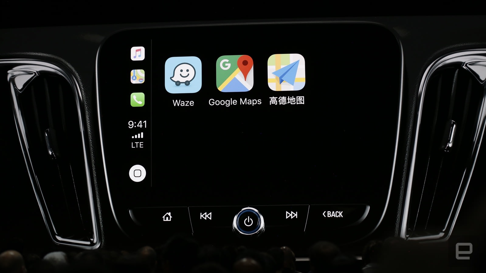 apple carplay will add google maps and waze support with ios 12. Black Bedroom Furniture Sets. Home Design Ideas