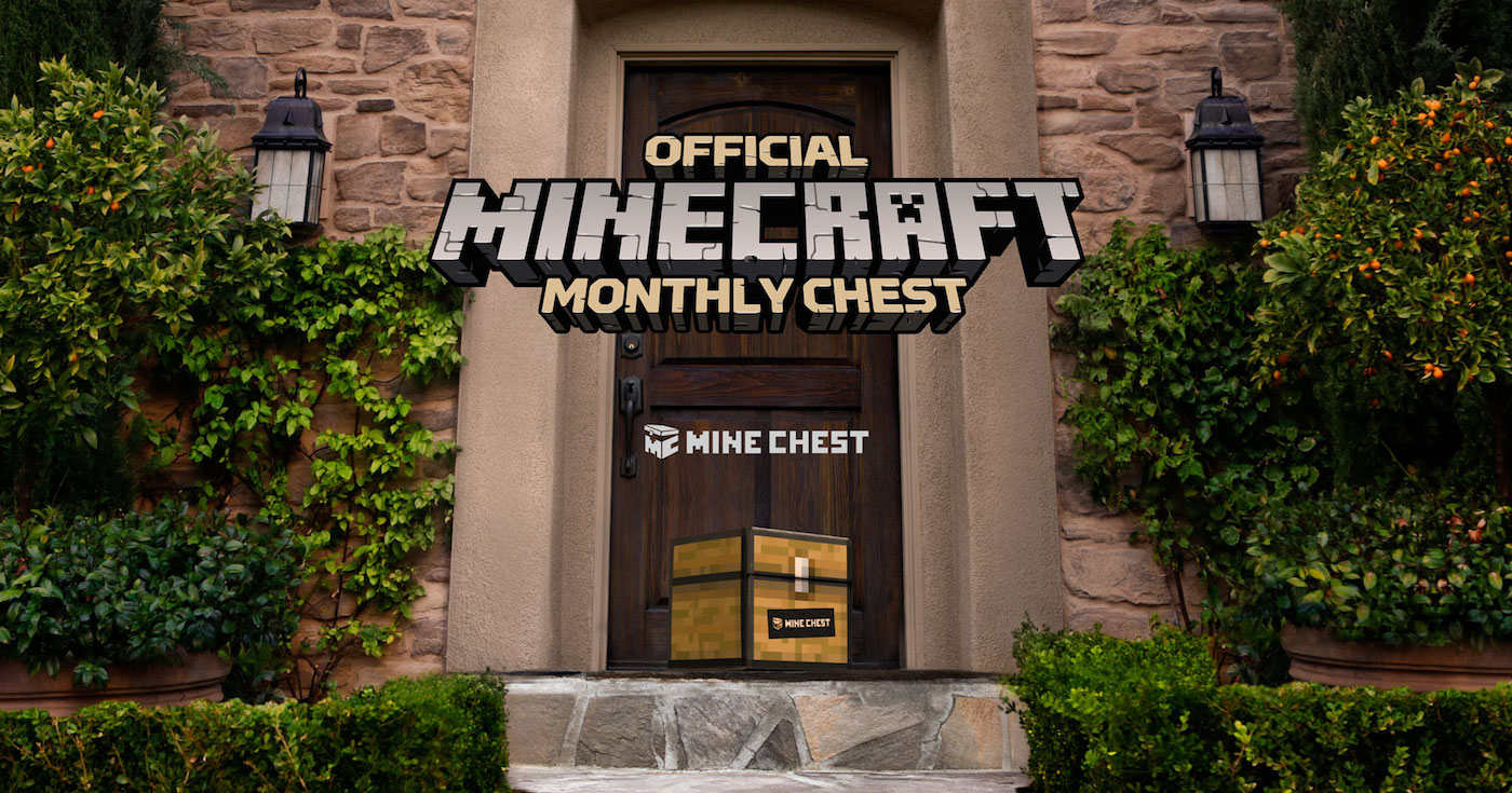 Minecraft Gets Its Own Official Monthly Swag Box