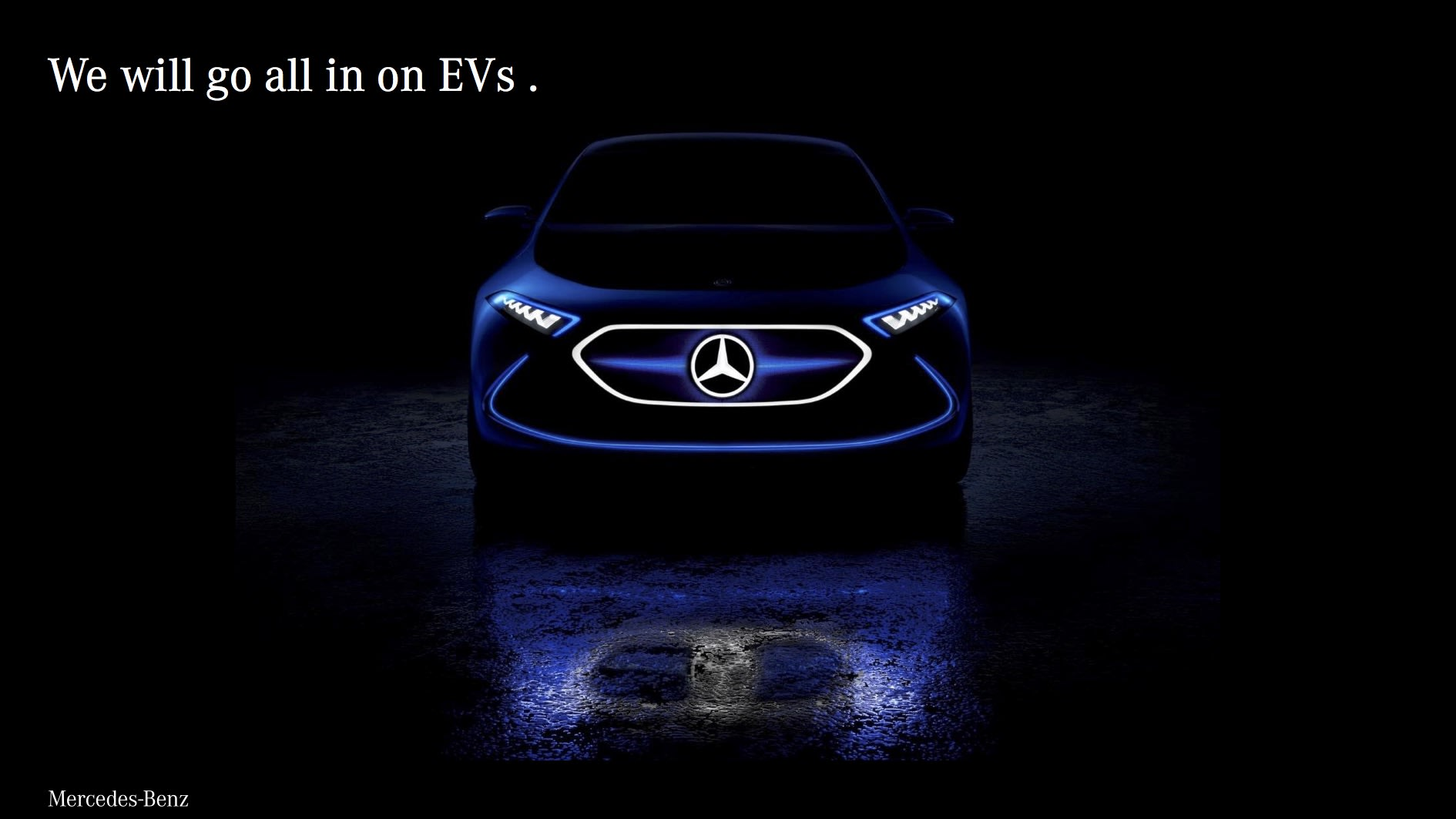 Mercedes Benz Plans Electric Versions Of All Its Models By