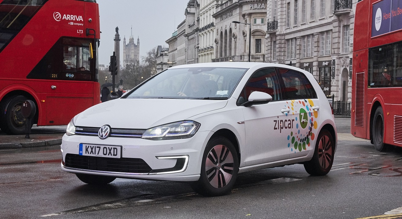 zipcar rolls out the uks biggest zero emission car share fleet